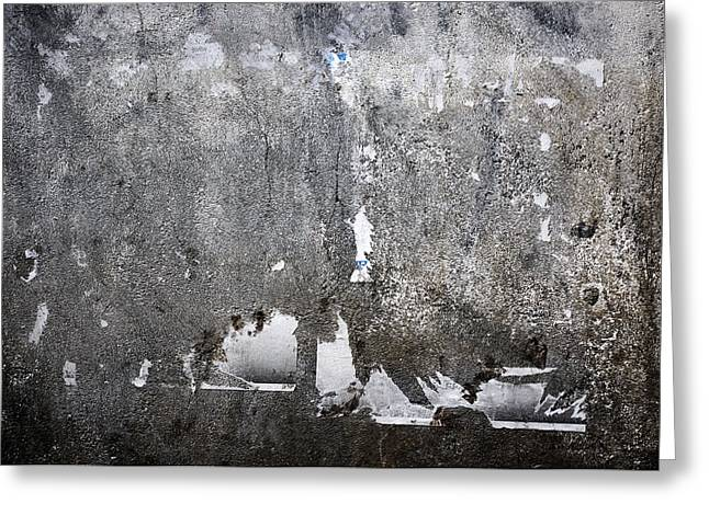 Grungy Concrete Wall Greeting Card by Dutourdumonde Photography