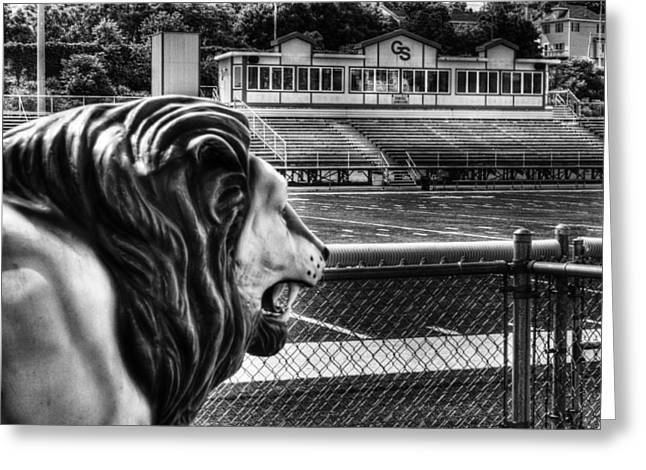 Gshs Lion Greeting Card