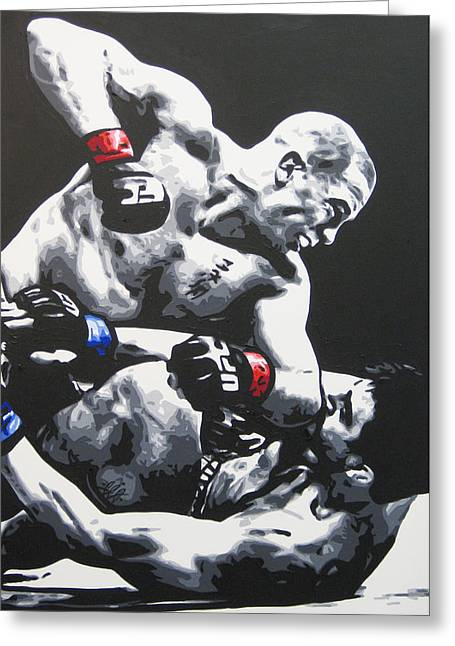 Gsp Ground N Pound Greeting Card