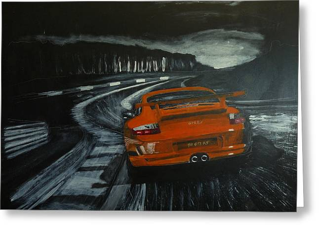 Gt3 @ Le Mans #2 Greeting Card