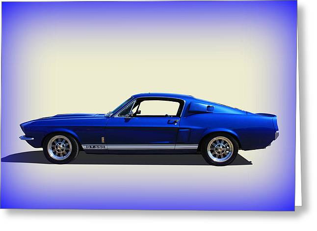Greeting Card featuring the photograph Gt350 Mustang by Keith Hawley