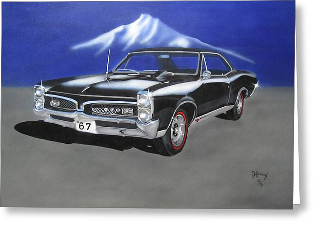 Gto 1967 Greeting Card
