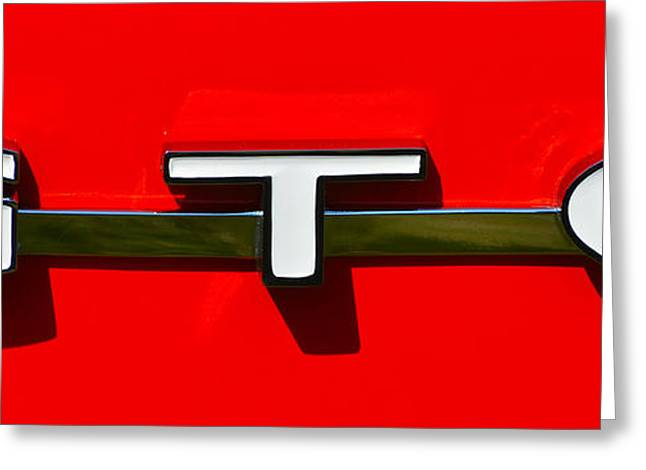 Gto Badge Greeting Card