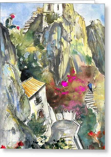 Guadalest 03 Greeting Card by Miki De Goodaboom