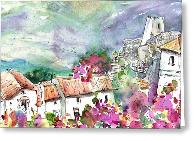 Guadalest 06 Greeting Card by Miki De Goodaboom
