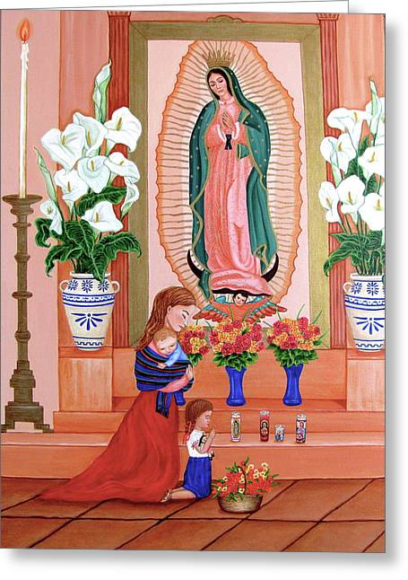 Guadalupe Greeting Card