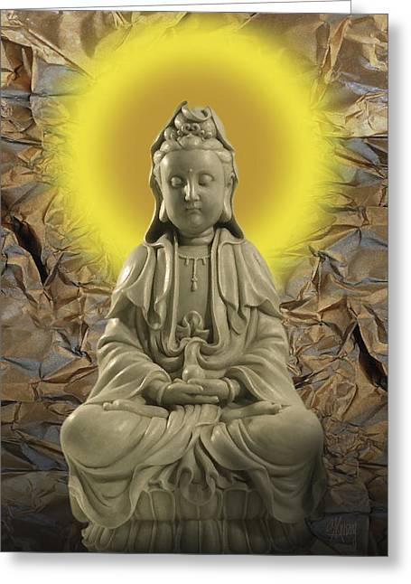 Guan Yin Greeting Card