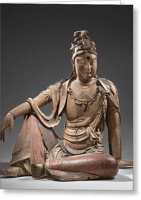 Guanyin, Anonymous Greeting Card