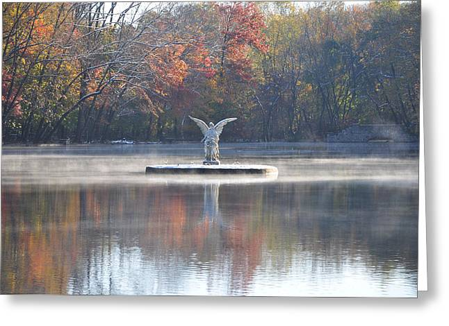 Guardian Angel  - Ambler Pa Greeting Card by Bill Cannon