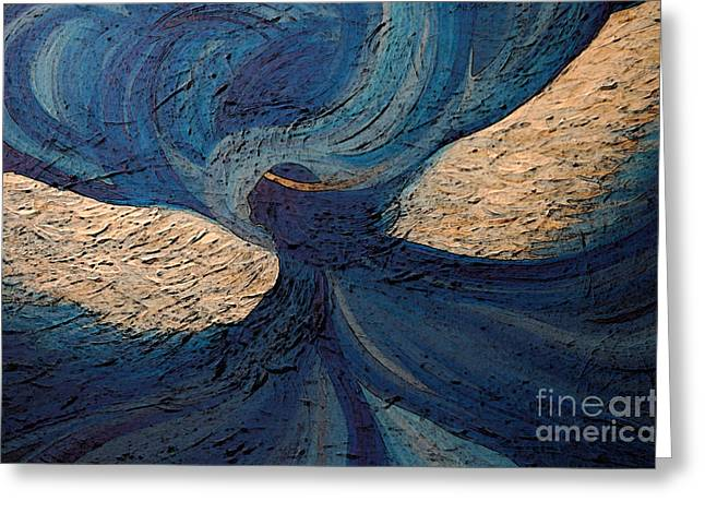 Guardian Angel By Jrr Greeting Card by First Star Art