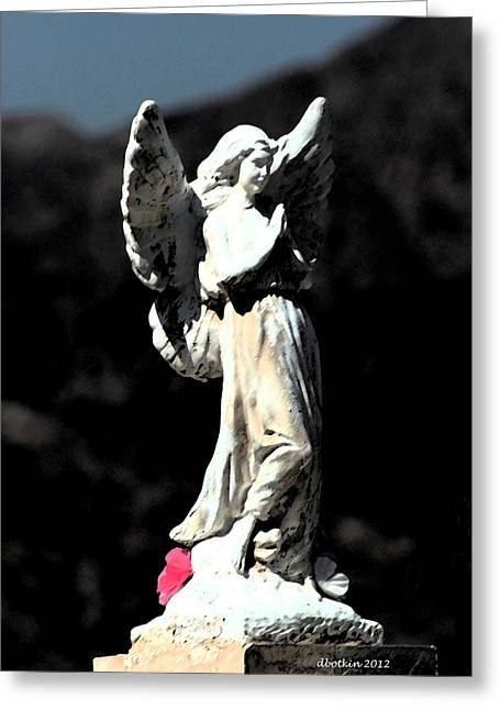 Greeting Card featuring the photograph Guardian Angel by Dick Botkin