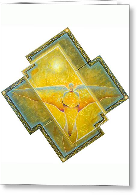 Guardian Of Light Greeting Card