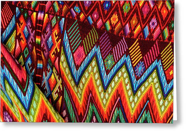 Guatemala, Chichicastenango, Colorful Greeting Card by Jaynes Gallery