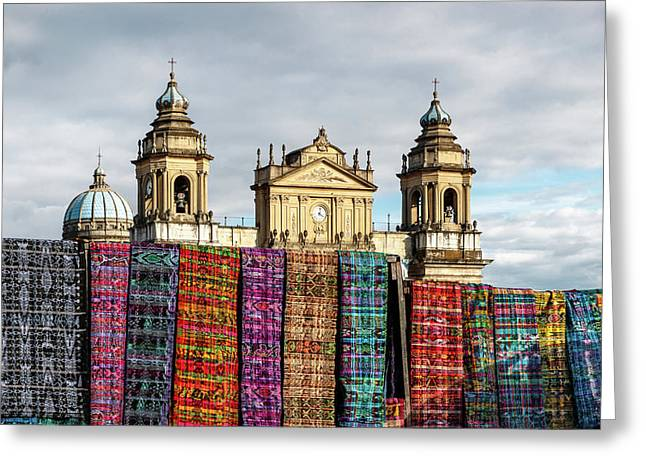 Guatemala City Cathedral Greeting Card
