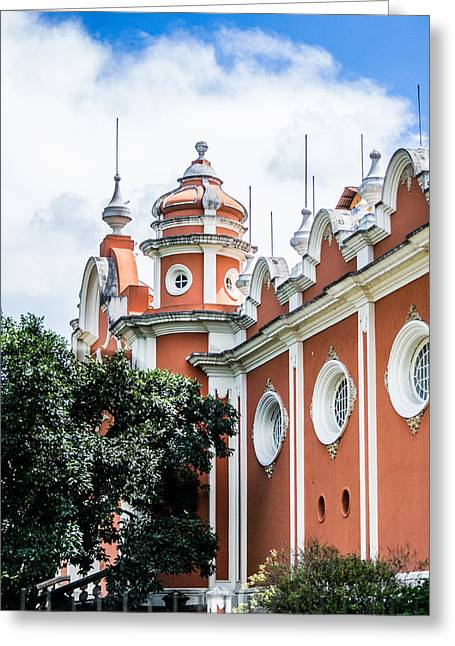 Guatemalan Architecture  Greeting Card by Shelby  Young