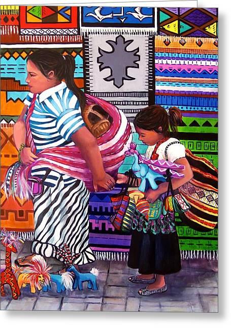 Guayabitos Mercado Greeting Card