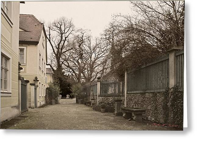 Greeting Card featuring the photograph Guest House IIi by Robert Culver