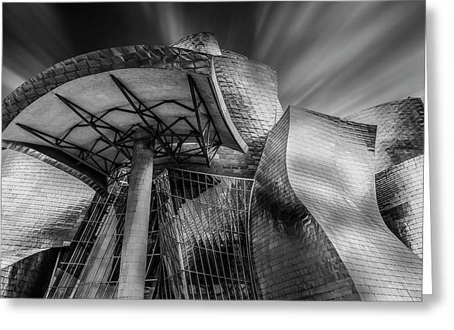 Guggenheim Bilbao (spain) Greeting Card