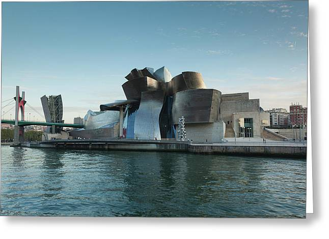 Guggenheim Museum Designed By Frank Greeting Card