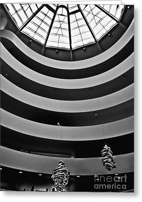 Guggenheim Museum - Nyc Greeting Card