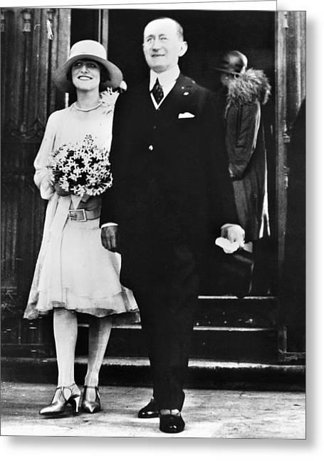 Guglielmo & Maria Marconi Greeting Card by Granger