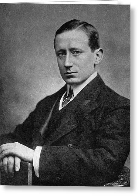 Guglielmo Marconi Greeting Card by Emilio Segre Visual Archives/american Institute Of Physics