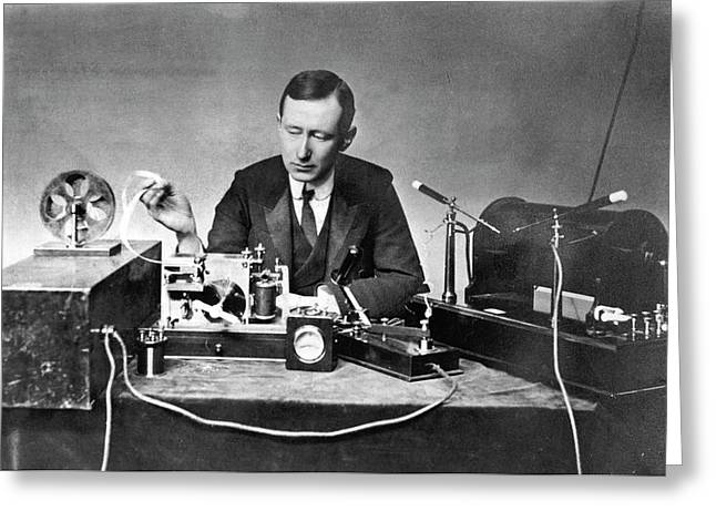 Guglielmo Marconi Greeting Card