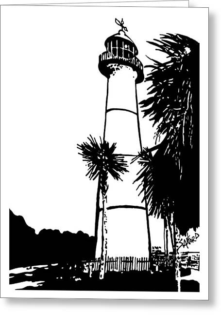 Guiding Light Greeting Card by Amanda  Sanford