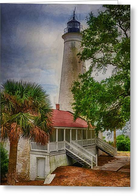 Guiding Light Greeting Card by Priscilla Burgers
