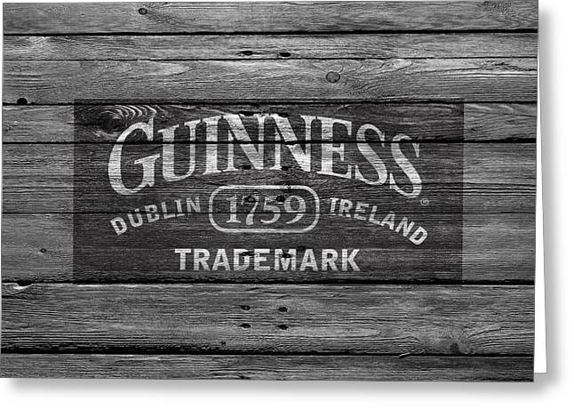 Guinness Greeting Card by Joe Hamilton