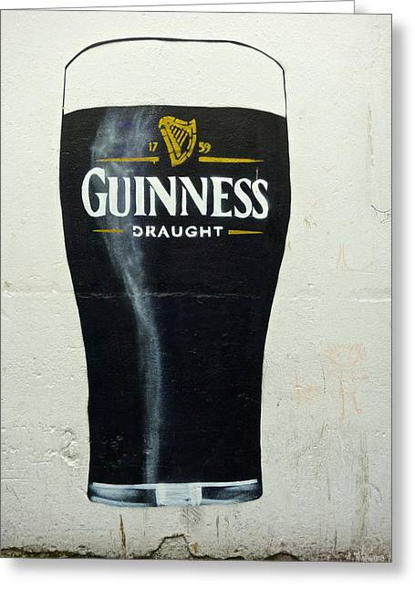 Guinness - The Perfect Pint Greeting Card