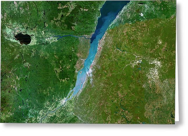 Gulf Of Saint Lawrence Greeting Card