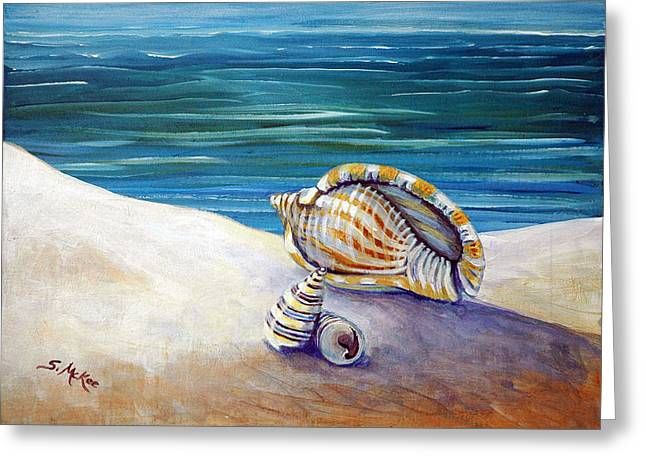 Gulf Shores And Shells II Greeting Card