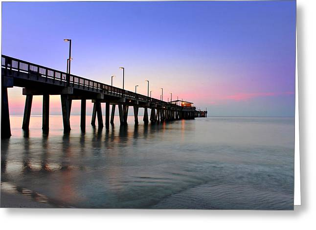 Gulf State Park Pier Greeting Card