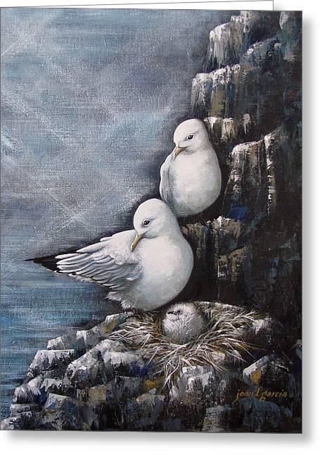 Gull Family Greeting Card
