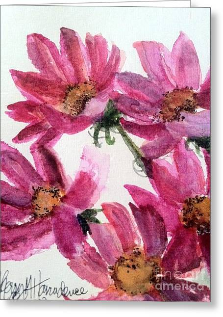 Gull Lake's Flowers Greeting Card by Sherry Harradence