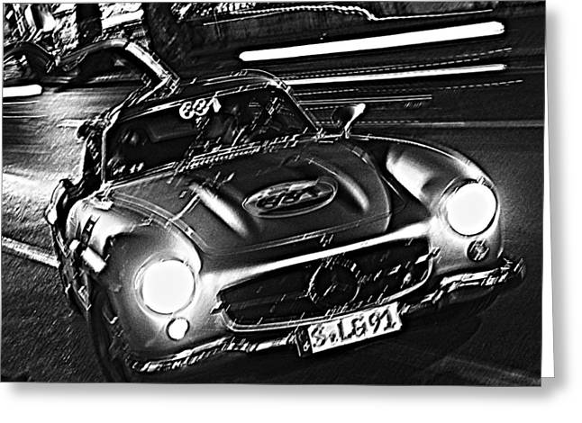 Gullwing In Rome Greeting Card