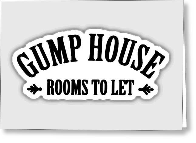 Gump House Greeting Card by Paul Van Scott