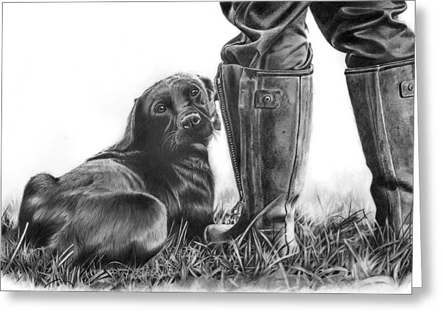 Gun Dog Greeting Card