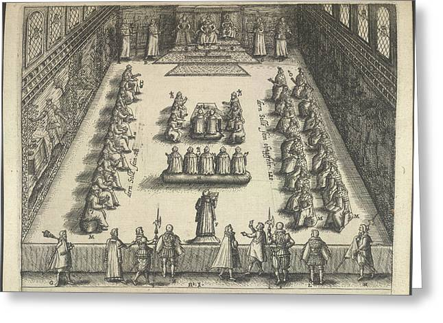 Gunpowder Plot Trial Greeting Card by British Library