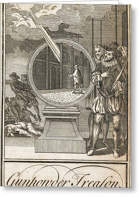 Gunpowder Treason Greeting Card