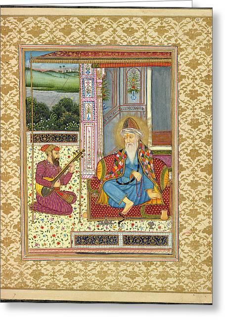 Guru Nanak Greeting Card by British Library