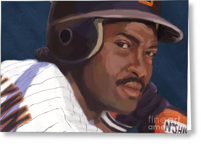 Gwynn Greeting Card by Jeremy Nash