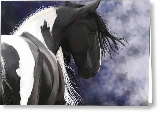 Gypsy Vanner Greeting Card