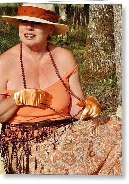 Gypsy Waiting Greeting Card