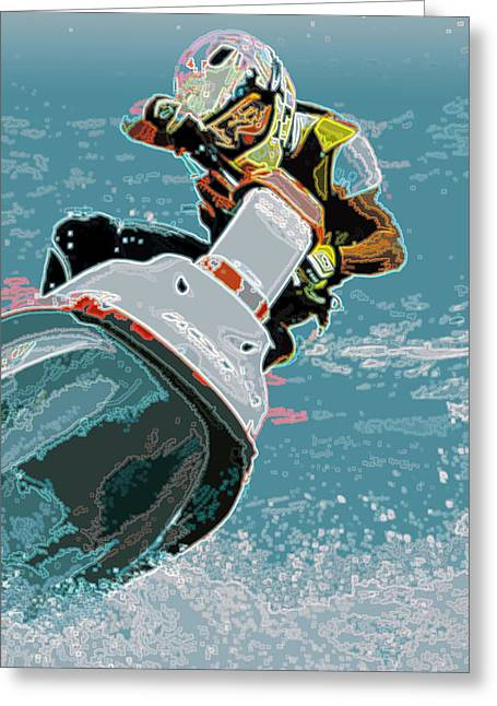 H2o Pilot Greeting Card