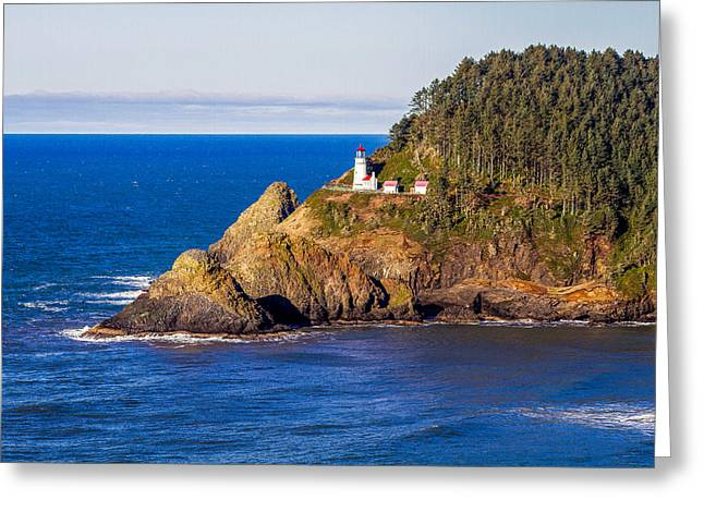 Haceta Head Lighthouse Greeting Card