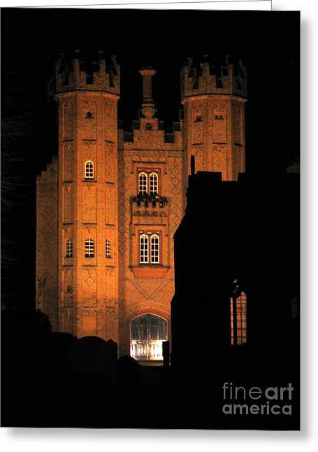 Hadleigh Deanery By Night Greeting Card