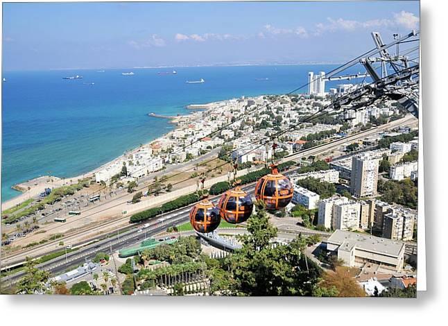 Haifa Greeting Card by Photostock-israel
