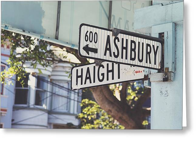 Haight Ashbury Greeting Card